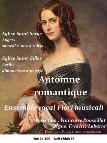 musique romantique,concert,angers