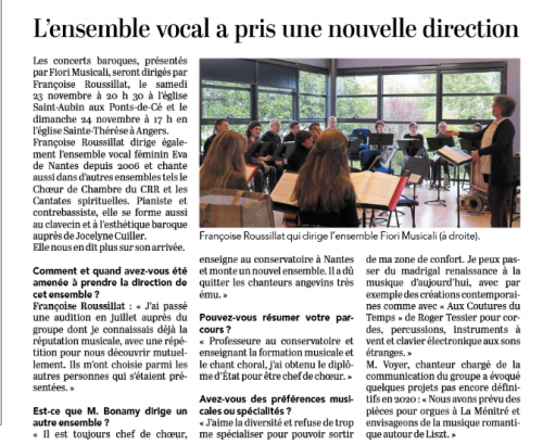 Article Courrier de l'Ouest 22 nov 2019.PNG