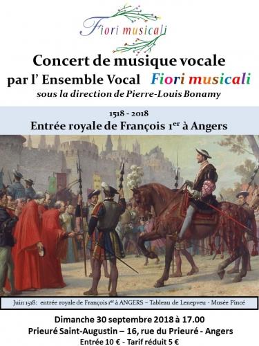 concert,francois 1er,fiori